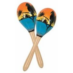 Tropical Beach Party Maracas