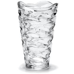 Atlantic 11 Inch Crystal Vase