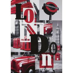 Big City Canvas Art Print