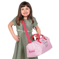 Flower Girl's Personalized Duffle Bag