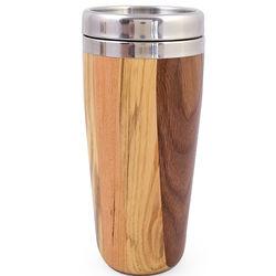 Mixed Wood Travel Mug