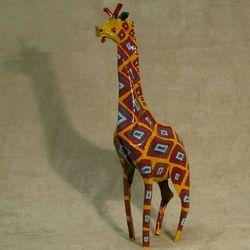 Classy Giraffe Tin Sculpture