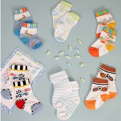 Infant Boys Socks Gift Set