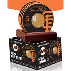 San Francisco Giants Coasters with Game Used Dirt