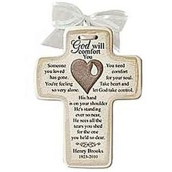 Personalized Memorial Ceramic Cross