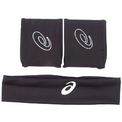 Men's Seco Tennis Wristbands and Headband