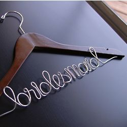 Customized Bridesmaid Hanger