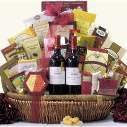 Chateau Tanuda Grand Barossa Classic Duet Wine Gift Basket