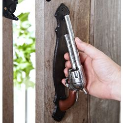 Son of a Gun Vintage Pistol Door Handle