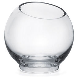Verge 6 Inch Glass Vase