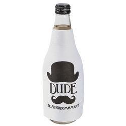 Be My Groomsman? Bottle Covers