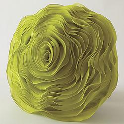 Rose Accent Pillow