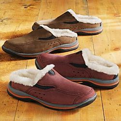 Sheepskin Lined Travel Shoes