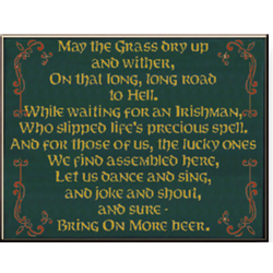 May The Grass Sign