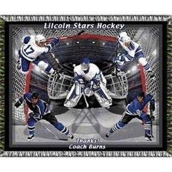 Ultimate Ice Hockey Team Tapestry Throw