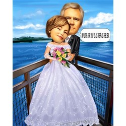 Marriage Caricature from Photos