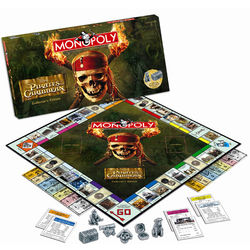 Pirates of the Caribbean Collector's Edition Monopoly