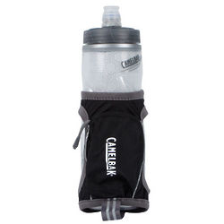 Quick Grip Chill Black Water Bottle