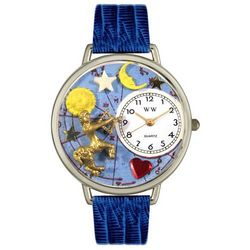 Personalized Royal Blue Sagittarius Watch