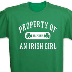 Property of an Irish Girl T-Shirt