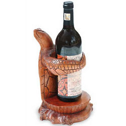 Gift from the Sea Wood Wine Bottle Holder