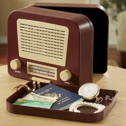 Vintage Style Radio Safe