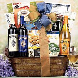 Francis Coppola Diamond Selection Wines Gift Basket