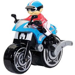 Kid's Big Wheelie Cycle Fun Ride Remote Control Motorcycle