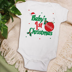 Baby's 1st Christmas Infant Creeper