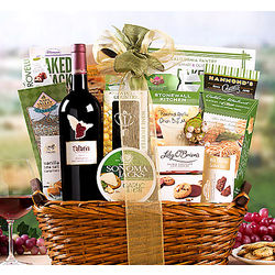 Talaria Vineyards Dry Creek Zinfandel Gift Basket