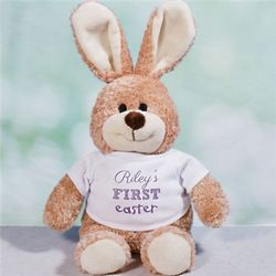 Personalized First Easter Bunny Stuffed Animal
