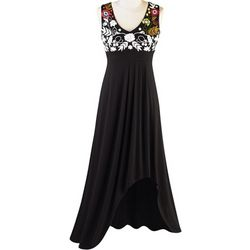 Phoebe Embroidered Florals Dress