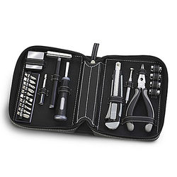 Personalized 21-Piece Tool Kit with Monogrammed Case