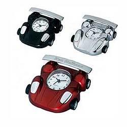 Personalized Race Car Alarm Mini Clock