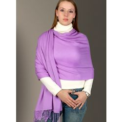 Pashmina and Silk Wrap