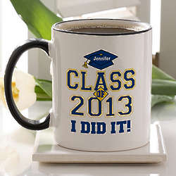 Cheers to the Graduate Personalized Coffee Mug