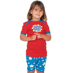 Super Kid Unisex Short Pajamas for Toddlers