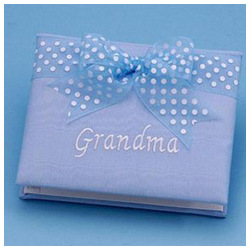 Grandma Brag Book in Blue