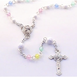 Pastel Rainbow Rosary