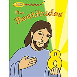 The Eight Beatitudes Coloring And Activity Book