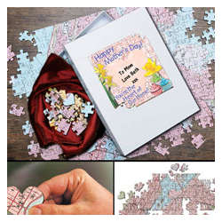 'You're The Heart Of Our Home' Mother's Day Map Puzzle