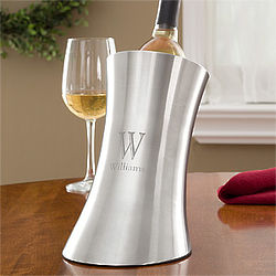 Personalized Stainless Steel Wine Chiller