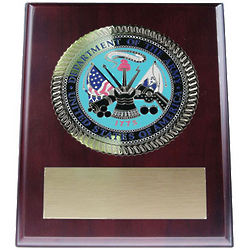 Engravable Army Emblem Plaque