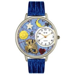 Personalized Royal Blue Scorpio Watch