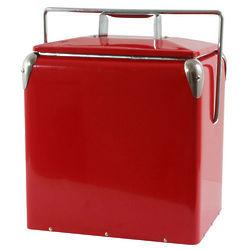 Retro Style Picnic Cooler