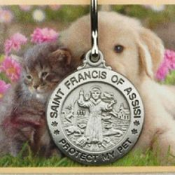 Small St. Francis Pet Medal