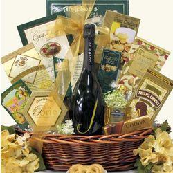 Dazzling Delights Sparkling Wine Gift Basket