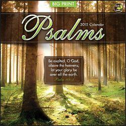 2014 Psalms Wall Calendar
