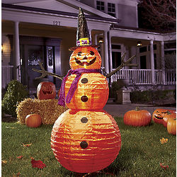Light-Up Jack-O-Lantern Man