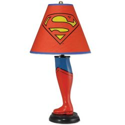 Superman Superhero Leg Lamp